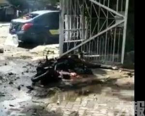 印尼教堂疑遭自殺式炸彈襲擊