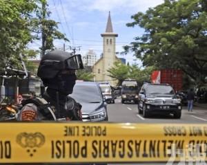 印尼教堂炸彈襲擊至少2死14傷
