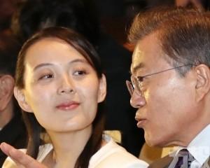 朝中社:金與正譴責文在寅涉朝言論