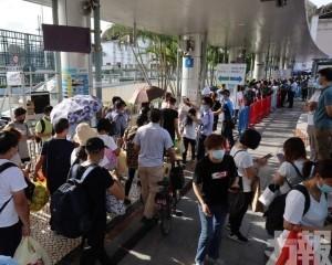 昨日本澳逾1.5萬名旅客入境