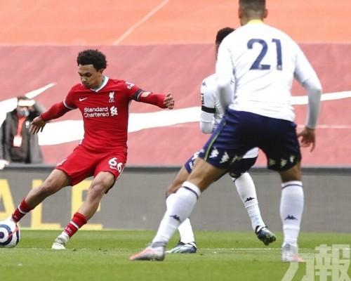 利物浦終止英超主場6連敗