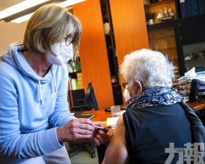 德國15%人口已接種至少一劑疫苗