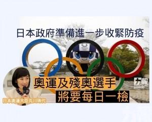 奧運及殘奧選手將要每日一檢