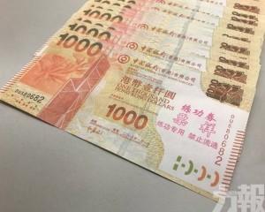 賭客兌款損失近13萬人民幣