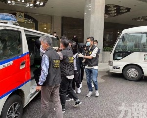 司警拘捕三名廣西大盜