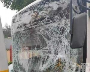 車頭玻璃碎裂 菲籍外僱擦傷送院