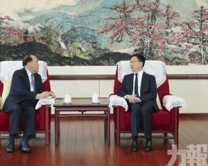 韓正:打造促進澳門經濟適度多元新平台