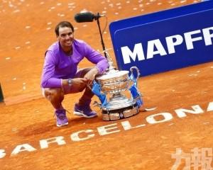 拿度第12次捧走巴塞網賽冠軍