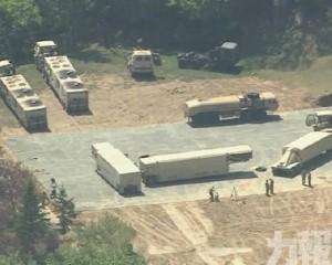 韓國防部向薩德基地運入物資