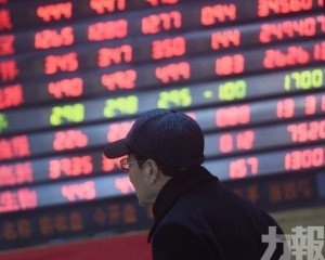 內地股市高收 創指升逾2%