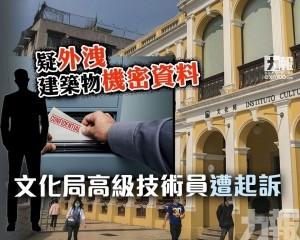 文化局高級技術員遭起訴