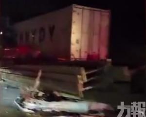 浙江湖州高速發生6車相撞事故