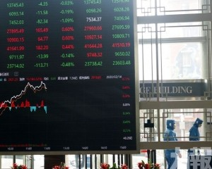 內地股市集體低開 滬指跌0.02%