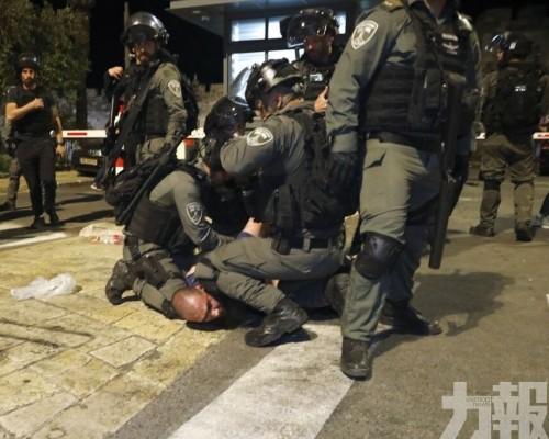 巴以聖殿山衝突200多人受傷