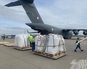 印度派42架軍機從全球運抗疫物資