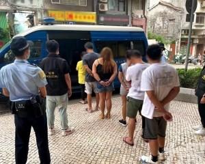 吸食冰毒遭斷正 六人被捕
