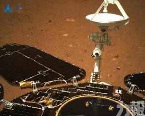 「祝融號」傳回火星影像