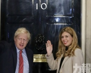 英媒指約翰遜秘密與未婚妻舉行婚禮