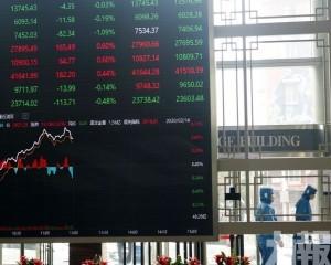 內地股市集體低開 滬指跌0.19%