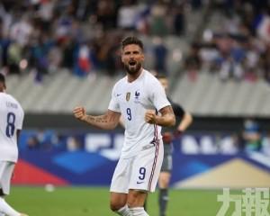 法國3球輕取保加利亞