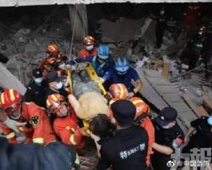 湖北十堰天然氣爆炸搜救出150人