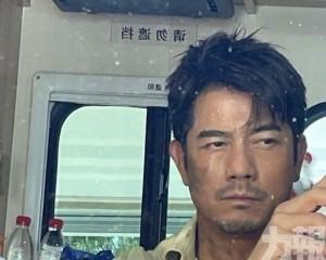 郭富城晒Man爆造型自拍照