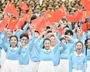 習:偉大光榮正確的共產黨萬歲!