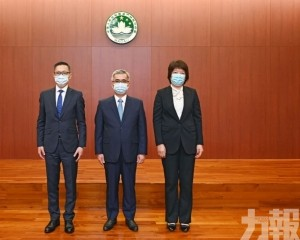 司警局局長薛仲明升為督察長