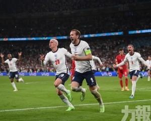 英格蘭時隔55年再入大賽決賽