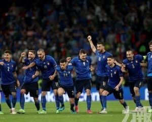 意大利12碼大戰擊敗英格蘭