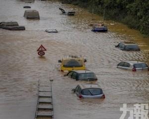 德國洪災遇難人數升至141人