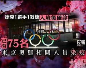 已有75名東京奧運相關人員染疫