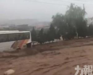 河南鞏義洪災至少4人死亡