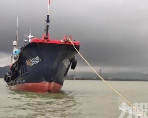 兩船昨於機場北碰撞 一船擱淺無人傷