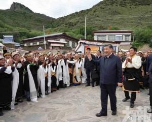 習近平赴西藏拉薩考察調研