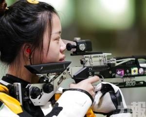 女子10米氣步槍肩負奪金重任