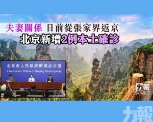 北京新增2例本土確診