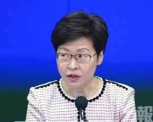 林鄭:非強制措施 市民仍有選擇權