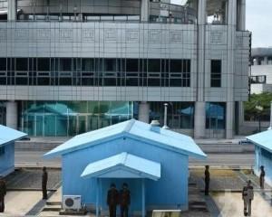 朝韓進行海上艦艇間無線電通訊