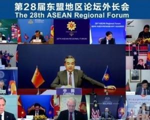 王毅:域外介入成南海和平最大威脅