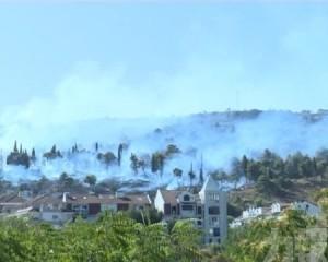 地中海沿岸多國山火蔓延