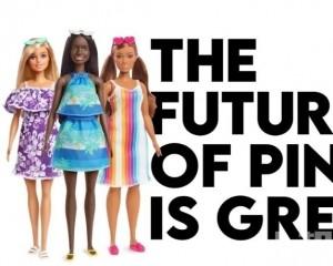 芭比廠商推海洋塑膠垃圾製娃娃