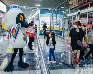 旅遊局到機場宣傳有關措施
