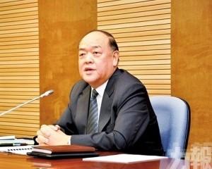 賀一誠致函祝賀中國體育代表團