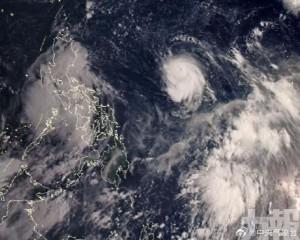 「燦都」今晨升為超強颱風