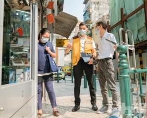 經科局籲商戶做好防風防浸措施