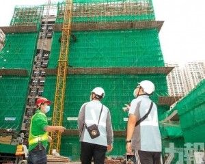 勞工局籲做好建築物防風措施