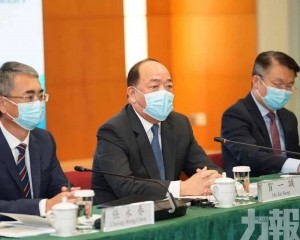 特首:粵澳已提出30條措施待批准