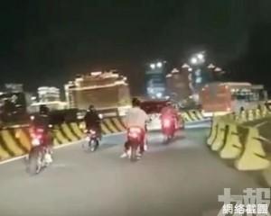 警方:未具資格車輛駛蓮花大橋可被罰