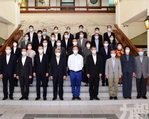 保安司司長與廣東省政協張嘉極副主席座談
